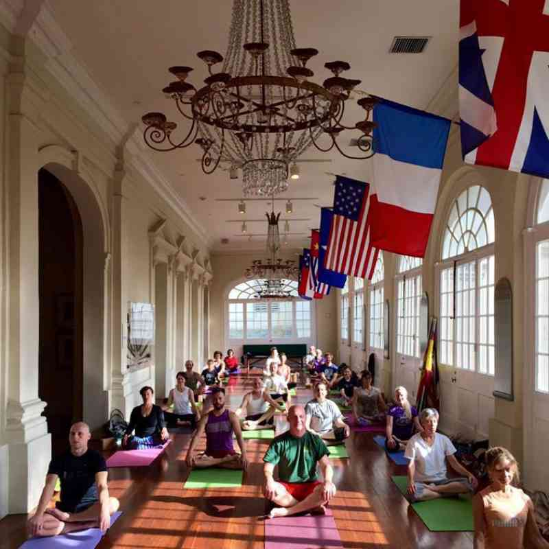 Yoga at the Cabildo