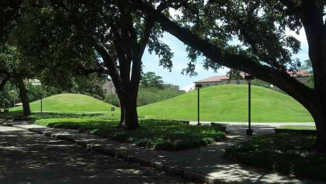 LSU Campus Native American Earthen Mounds