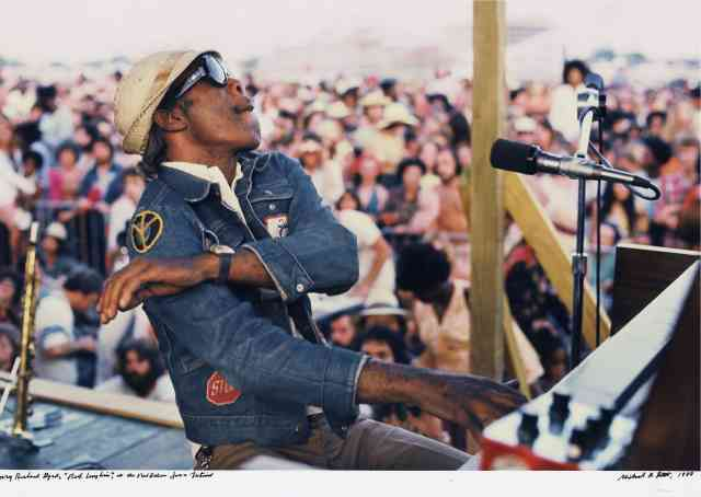Professor Longhair photograph by Michael P Smith