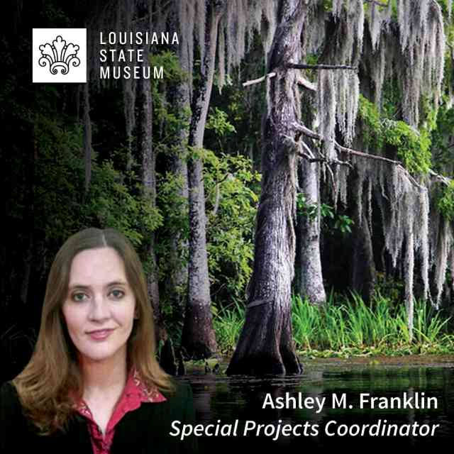 LSM's Ashley Franklin to speak about the Cypress Sawmill Industry