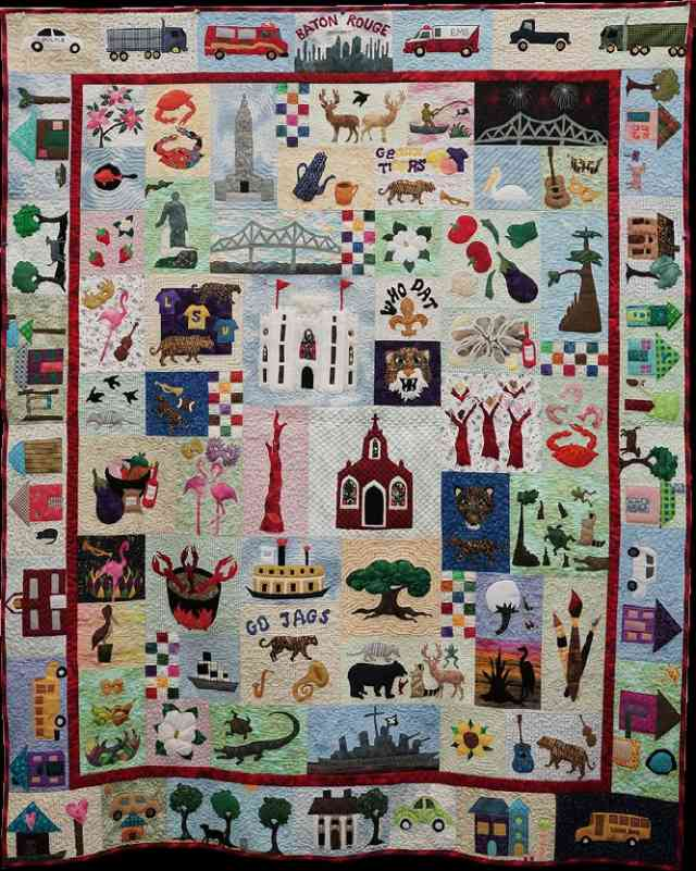 Baton Rouge Traditions Quilt