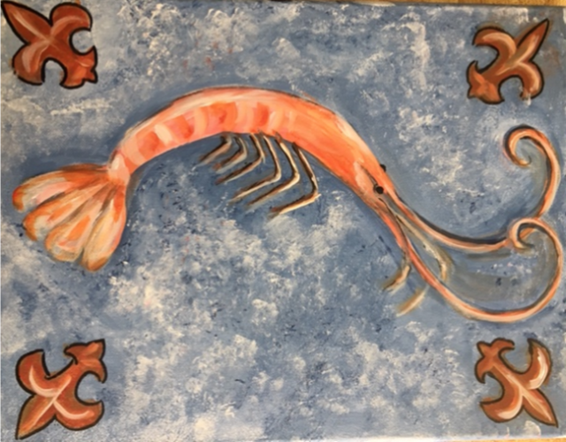 Crustacean Creation Adult Painting Class