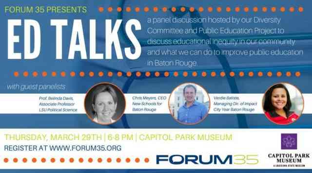 Ed Talks with Forum 35