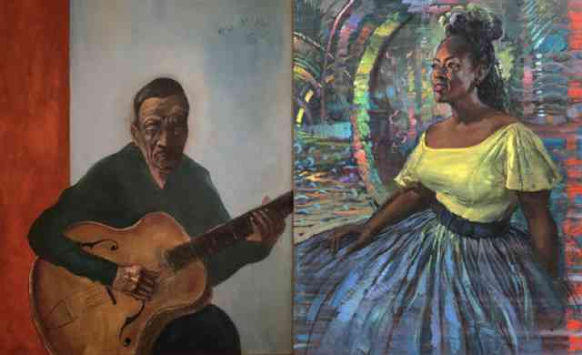 New Orleans Music Observed: Noel Rockmore & Emilie Rhys Opening