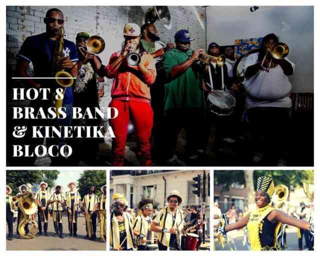 Workshop Showcase: Hot 8 Brass Band & Kinetika Bloko