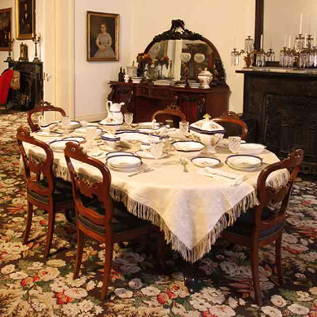 1850s House Period Dining Room