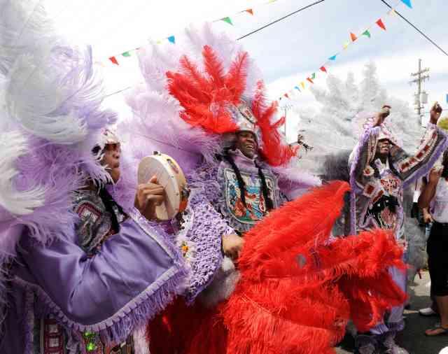 McCusker - Mardi Gras Indians - Shane Lief