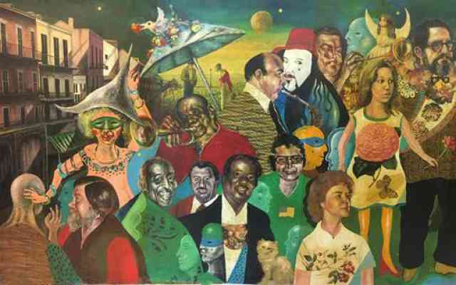 Rockmore New Orleans Jazz Mural