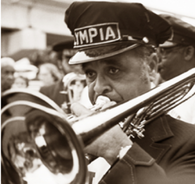 Celebrating the American Music Triangle, Trumpeter in New Orleans