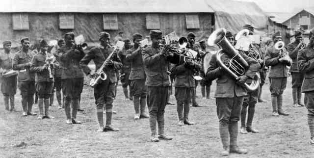Jazz En Route to France 1917-1918 Opening Reception
