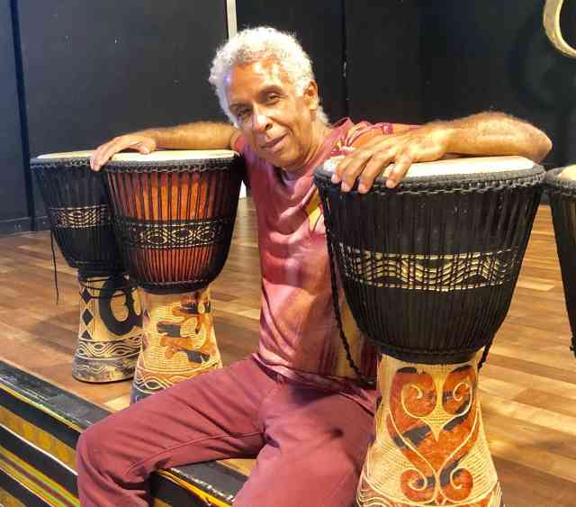 Congo Square Drumming for Life Workshop