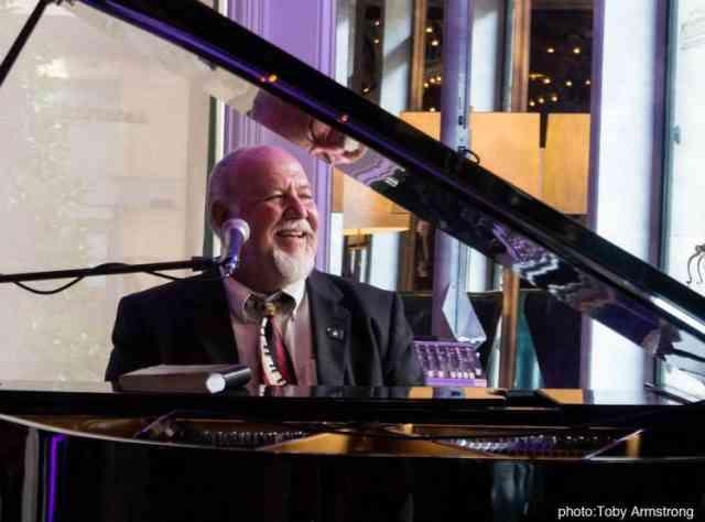 Pianist Tom Hook