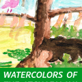 Watercolors of the Atchafalaya
